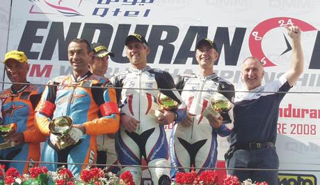 Bol d'or podium Stéphane Mertens